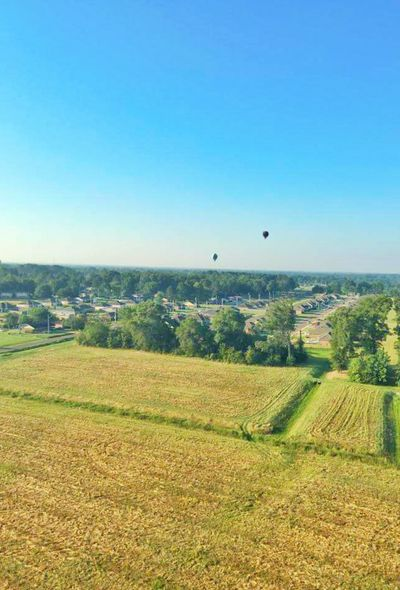 Hot Air Ballooning Hot Air Balloons Landscape Shyline Skyscape Horizon Over Land View From Above Balloons In The Sky Transportation Jackson Mississippi Mississippi  Adventure Club Showcase July A Birds Eye View
