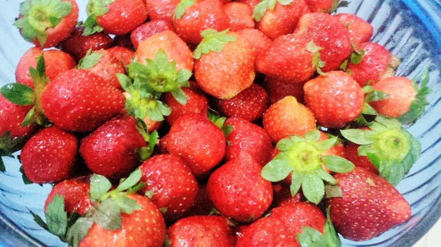 Strawberries from baguio. :D