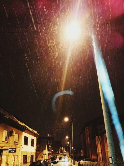 Let it snow, let it snow, let it snow Walking Around