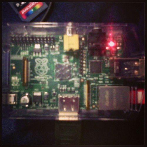 Raspberry SolutionsLinux Parinux stand C45