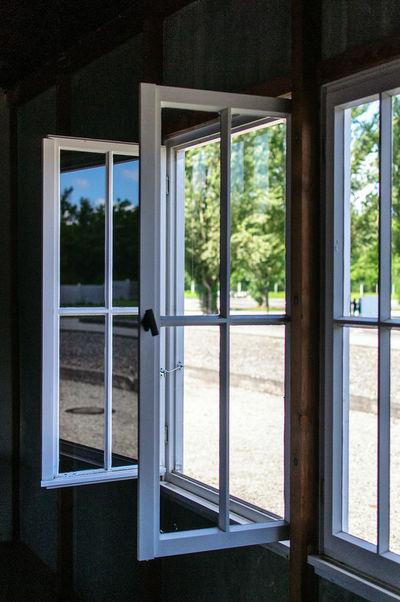 Window History Monument KZ Dachau