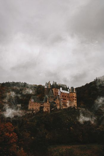Burg Eltz Cloud - Sky Architecture Sky Nature No People Built Structure Plant House The Past City Low Angle View Tree History Abandoned Outdoors Old Day Building Building Exterior