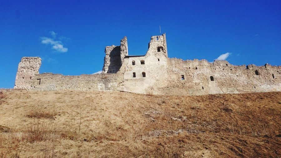 History Old Ruin Castle Ruined Ancient The Past Architecture Built Structure War Building Exterior Clear Sky Place Of Worship Fort Low Angle View Medieval Outdoors No People Day Sky Representing Landscape_Collection Rakvere Landscape EyeEmNewHere Architecture