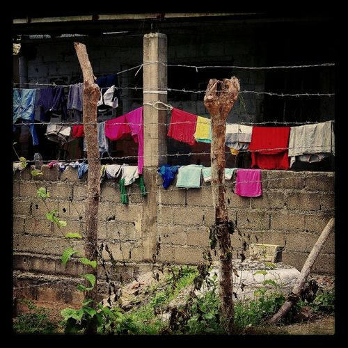 Drying Clothes Venezuela Yaracuy