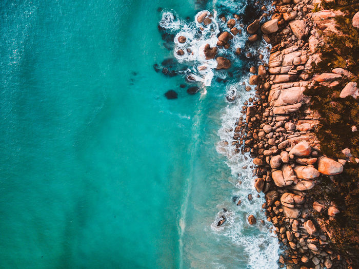Australia Drone  Rock Aerial View Beach Beachphotography Beauty In Nature Blue Day Dji Motion Nature No People Outdoors Pebble Beach Scenics Sea Sky Water Wave Waves The Great Outdoors - 2018 EyeEm Awards