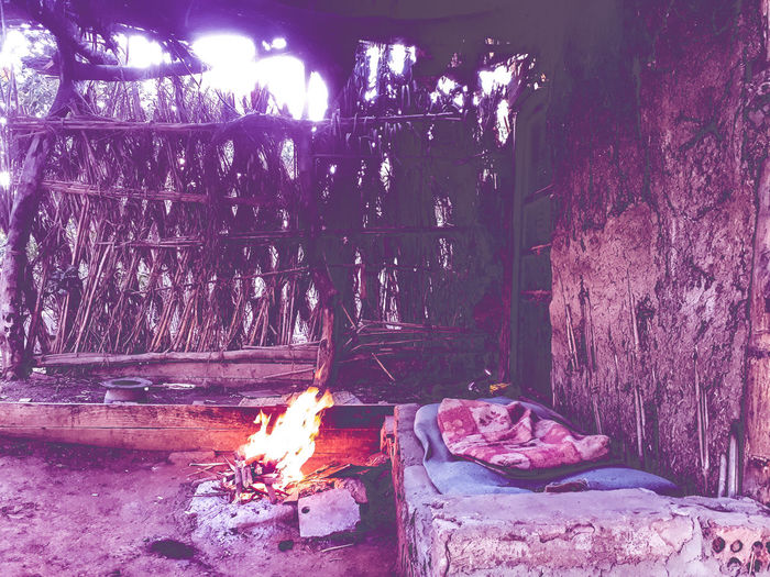 Calmness, Silence and nature Firelight Fire - Natural Phenomenon Firewood Natuere Photos Nature Photography Sofa Straw House Straws Sand Clay Egyptian Culture Egyptphotography Country Side Country Side Sense Country Side Farm Way Of Life Close-up