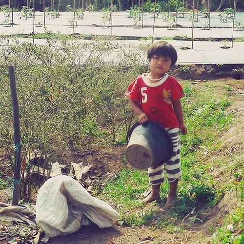 Anak Petani Petani Sekitarkita Farmer Peasant anakindonesia anakanak child children potretindonesia