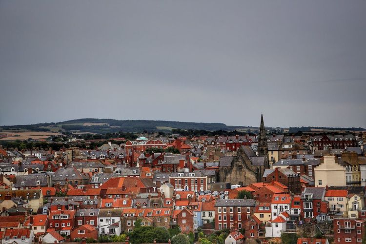Whitby Whitby Whitby Abbey Building Exterior Architecture City Built Structure Residential District Building Crowded Cityscape Crowd Sky Town House High Angle View Nature Roof Community Day TOWNSCAPE Outdoors Settlement