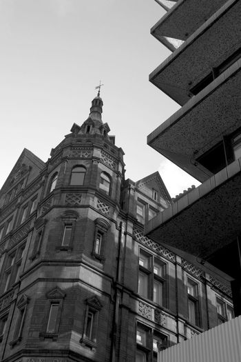 Apartment Architectural Feature Architecture Black And White Photography Building Exterior Building Story Built Structure Chancerylane City City Life Day England🇬🇧 Façade Historic History Low Angle View No People Old Town Outdoors Sky Skyscraper Spire  Tall Tall - High
