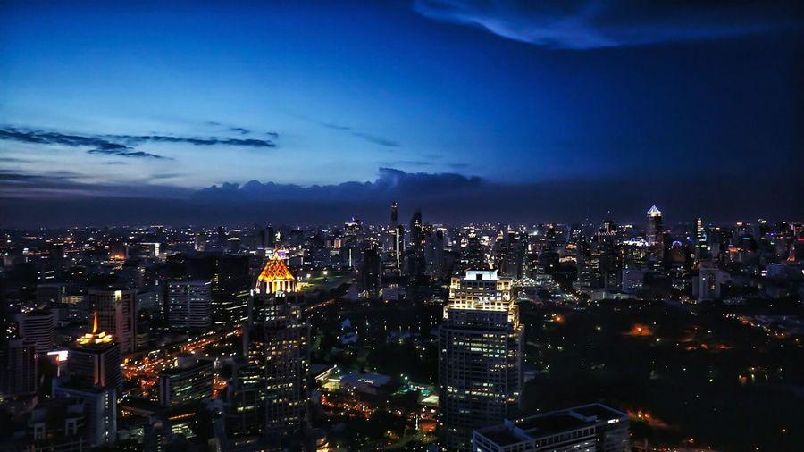 Bangkok Krung Thep Majestic Cityscapes Horizon Over City Tranquil Scene Urban Scene Landscape A Bird's Eye View Copy Space The City Light The Architect - 2017 EyeEm Awards The Street Photographer - 2017 EyeEm Awards Neighborhood Map Been There.