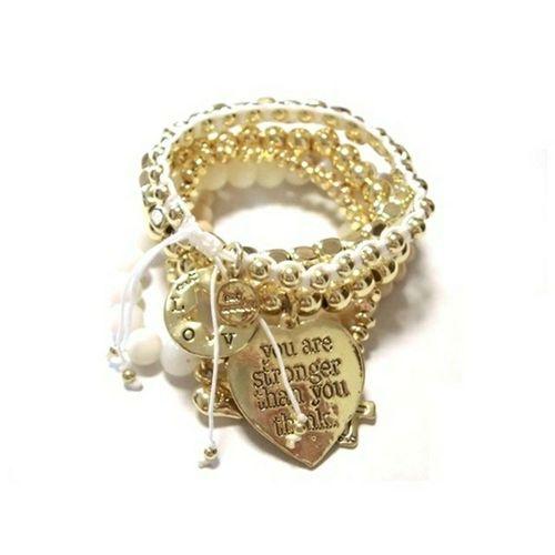後払い可能 セレクトショップレトワールボーテ Facebookページ アクセサリー部品 はーと 後払い決済対応店舗 ハートマーク レトワールボーテ ブレスレット 後払い Heart ハートの石 Bracelet Platinum Jewelry Close-up