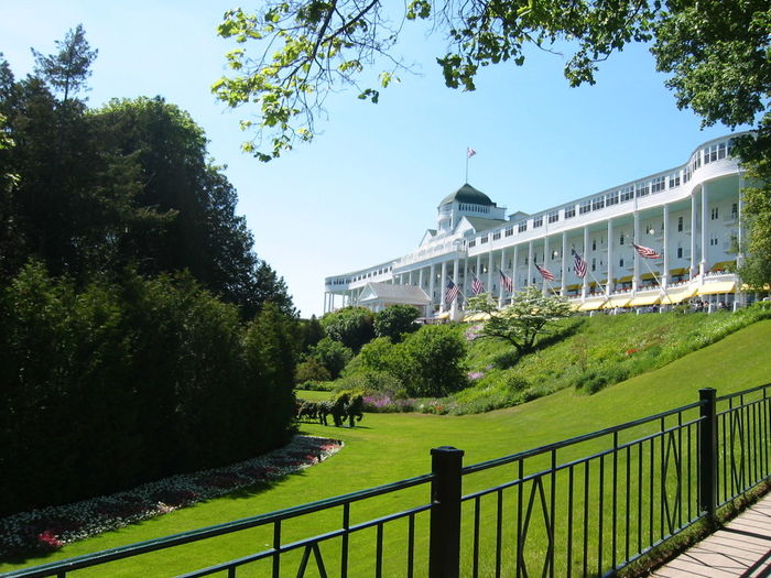 Mackinac Island Pure Michigan Grand Hotel Somewhere In Time