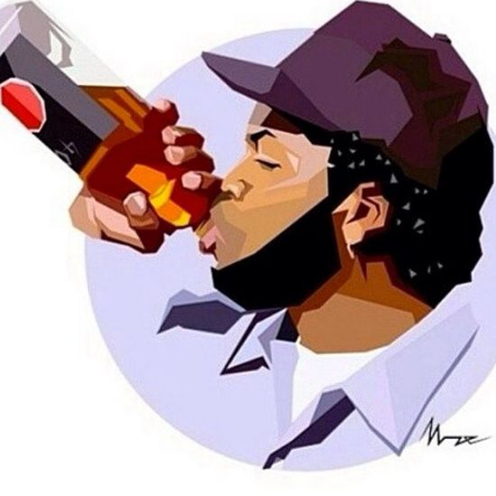 Today was a good day. Icecube Goodday Art ImOnKiller