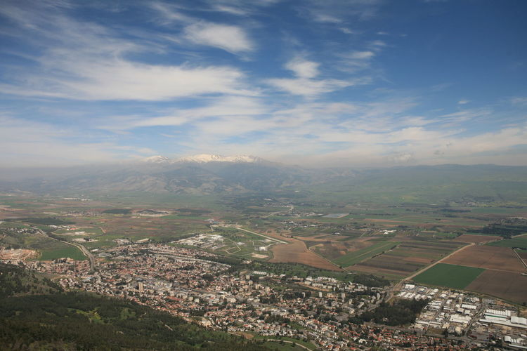 Amazing Landscapes of Israel, Views of the Holy Land Environment Landscape Sky Cloud - Sky Beauty In Nature Scenics - Nature Nature Day Aerial View Tranquil Scene Tranquility Mountain High Angle View Patchwork Landscape Outdoors No People City Architecture Built Structure Building Exterior Cityscape TOWNSCAPE