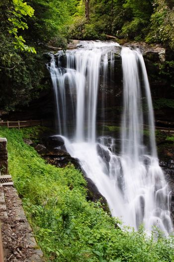 Waterfall Beauty In Nature Tranquil Scene Nature Green Color No People Tree Forest Outdoors Plant Hiking Mountain Trail Scenics Freshness