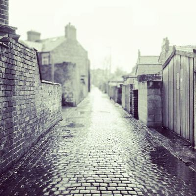 #alley #rain