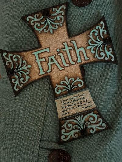 Faith cross Praising The Lord Religious  aqua brown christ worship Christian savior risen king heaven