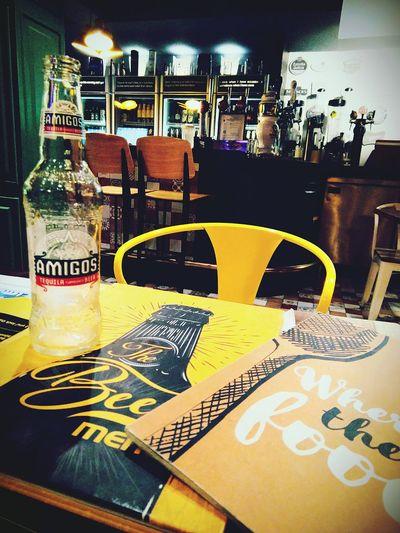Beer memory....! Indoors  Drink Beer Bottle Beer Night Food And Drink Establishment Indoors  Beerhouse MumbaiDiaries