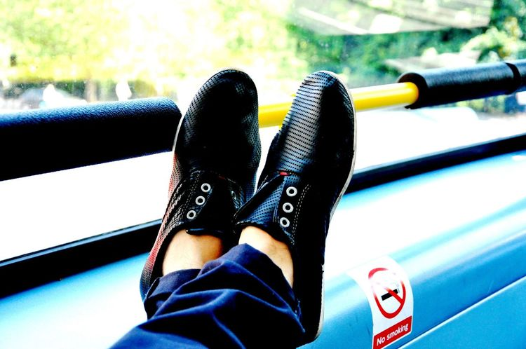 Shos My Shoes Double Decker Bus Redbus LONDON❤ Near Palace Greenpark Chillaxing dayoff Cool_capture_ Transportation Person Man Made Object Hobbies 2016 Picture My Hobby Best EyeEm Shot Great Day  Loveit Blessedsunday Photography Hello World Pbotography Check This Out