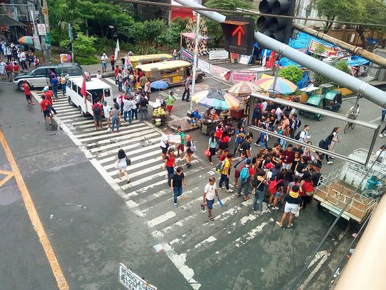 Fight against Red Light Large Group Of People High Angle View Crowd Outdoors Tree first eyeem photo