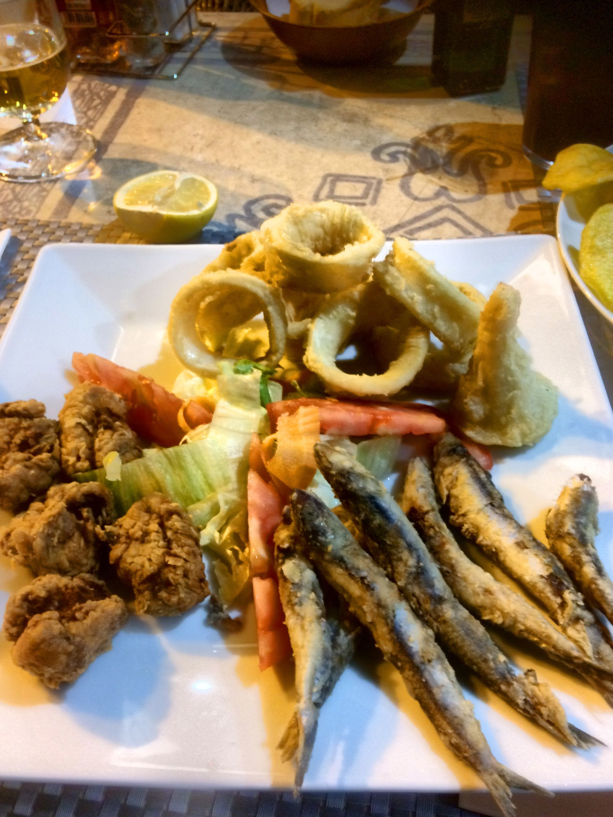 food and drink, food, ready-to-eat, plate, freshness, serving size, healthy eating, no people, table, indulgence, appetizer, seafood, meal, indoors, close-up, slice, gourmet, temptation, cooked, serving dish, day