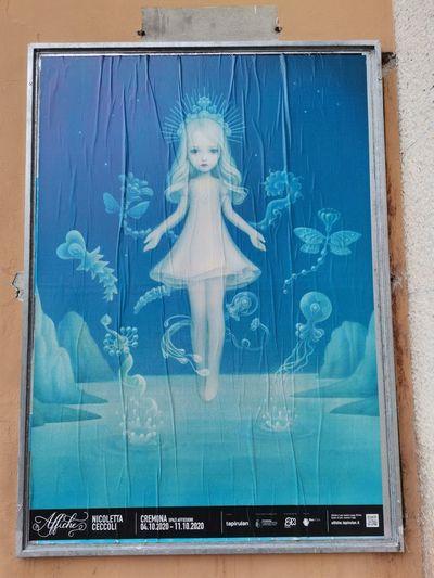 Toy seen through glass window