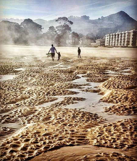 playaoriñon castrourdiales cantabria sand Nubes Sky Familie Summer Exploratorium