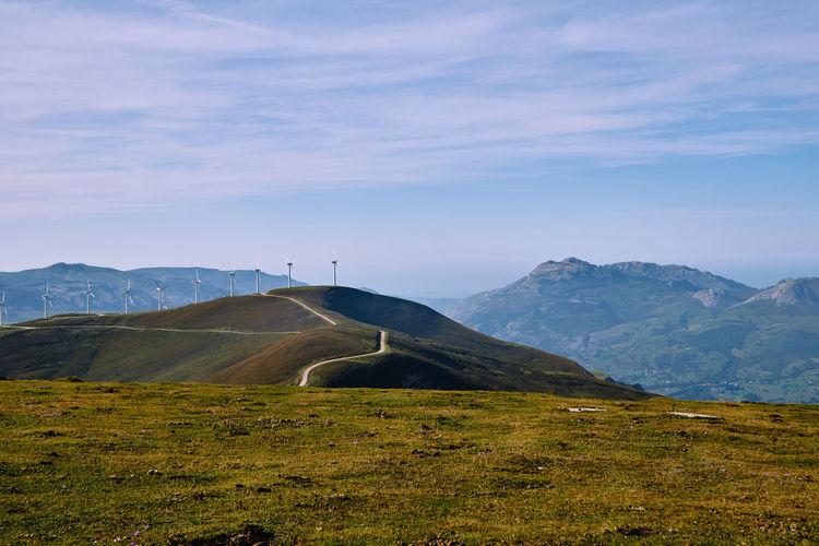 Mountain in cantabria