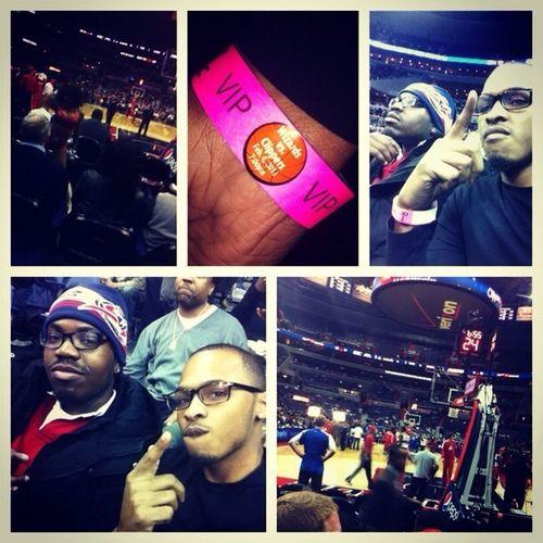 Wizards game last night