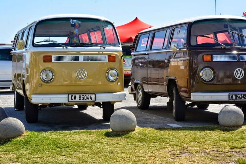 VW Bus Vwbulli Cars Yellow Artphotography South Africa by Ericdecastro