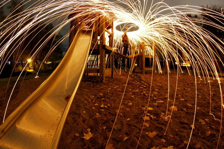 EyeEm Selects Cologne Long Exposure Illuminated Wire Wool Motion Long Exposure Firework Display Light Painting Light Trail New Year Event High Street Tail Light Firework - Man Made Object Sparkler Glowing Spinning Firework Sparks Exploding Holiday Moments EyeEmNewHere My Best Photo