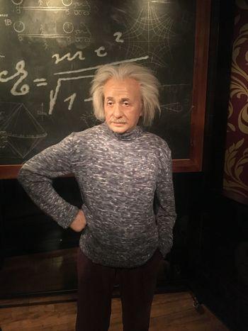Einstein WaxFigure Wax Museum Madame Tussauds
