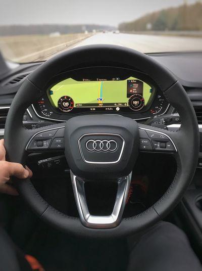 …digging the all-digital cockpit! Audia4