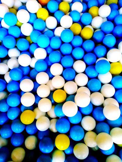 plastic balls Plastic Plasric Balls Balls Blue White Plastic