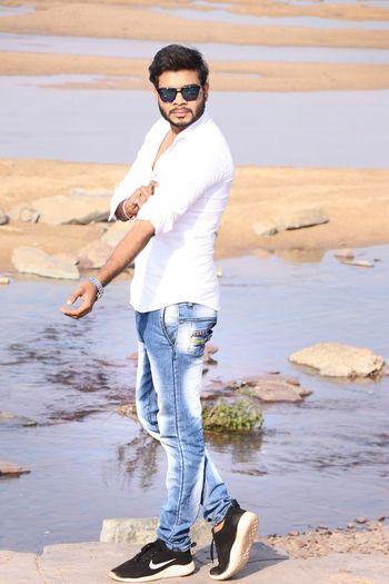 EyeEm Selects Water Beach Portrait Full Length Sea Standing Men Summer Smiling Fashion
