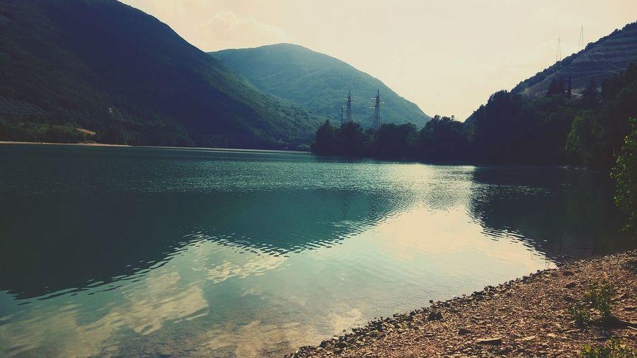 Landscape Caccamo Lake Fishing Bigcarp Mountain Beautiful Nature Beautiful Day