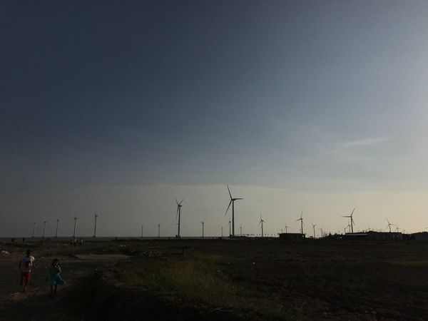 Wind Turbine Environmental Conservation Wind Power Alternative Energy Fuel And Power Generation Renewable Energy Windmill Sky Electricity  Outdoors Nature Technology Landscape Tree Industrial Windmill Beauty In Nature Day No People Baclieu Vietnam