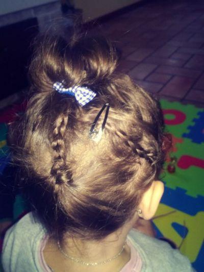 Treccine Girl MyGIRL Hairstyle Hair Hardtodo Shorthair Curly Hair ❤ Niece 💕 Beautiful Ready To Go