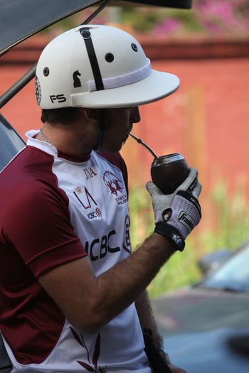 Polo Mate Polo Players Helmet Polo Player Mate Argentino First Eyeem Photo