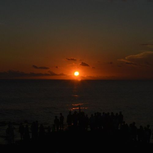 Waited hours just for this moment. Will upload the full sunset at fb.