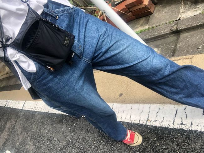 One Person Casual Clothing Low Section Real People Lifestyles Human Leg Jeans