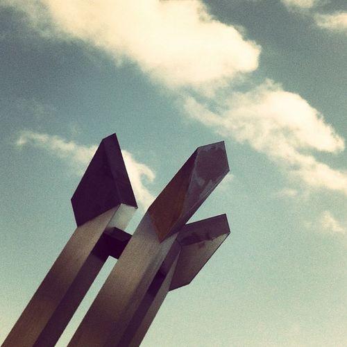 "The monolith of love, also known as ""Le invisible evidence of "" Rodchenko Crapstract Ripoff Brangasm Constructivist Portedenamur Klutsis Crapshitecture Abstract Igersbelgium Minimalism Versusproject Cloudporn Texture Minimalist Skyporn Metal Architectureporn"