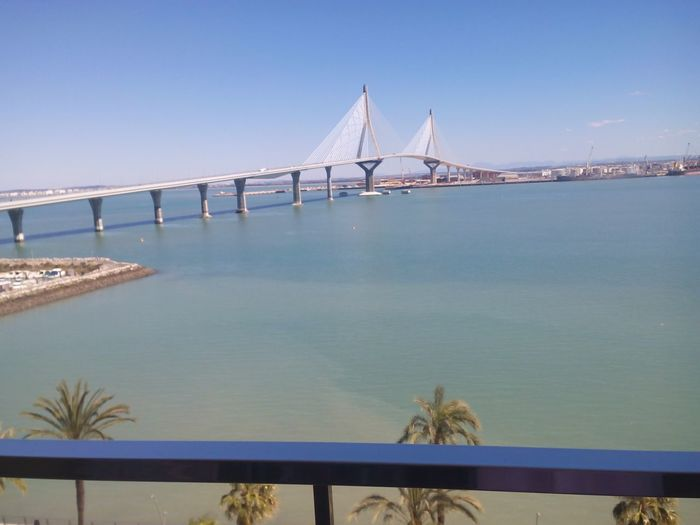Sea Bridge SPAIN Andalucía Cadiz Cadizturismo Cadizfornia Today ☺ Sunny Day Puente Día Soleado Sea View Seaside Sea And Sky Summer Boats Blue Sky