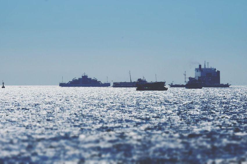 Sound Of Life Fujifilm X-E2 Sea Bosphorus Turkey Ocean Ship Boats Fujifilm Istanbul Tiltshift Color Palette Parallel