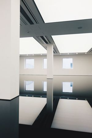 Saatchi Gallery London Architecture Built Structure Repetition Architectural Feature Modern Day Office Building Sky Geometric Shape No People City Life Building Story First Eyeem Photo