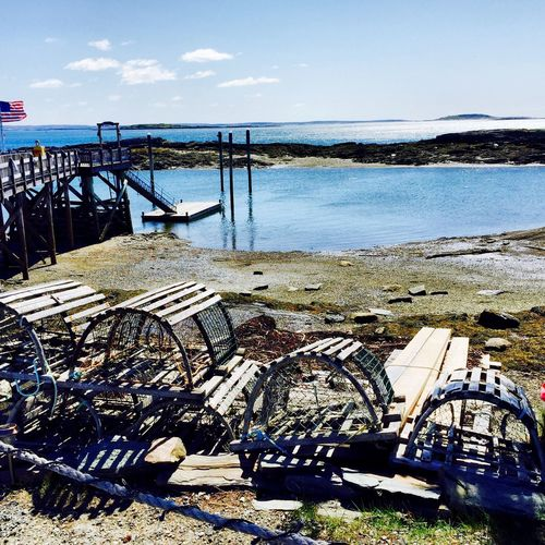 Old Lobster Traps Beach