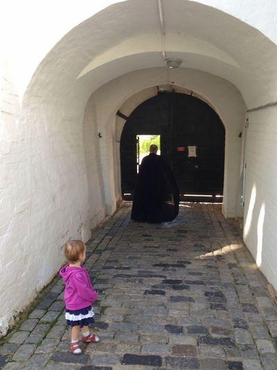 Lavra троице-сергиева лавра Monastery Monk  Child Childhood Arch Girls Architecture