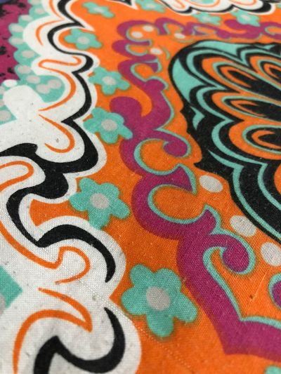 Multi Colored Pattern Full Frame Backgrounds Creativity Art And Craft Close-up Design Craft Floral Pattern Textile Still Life No People