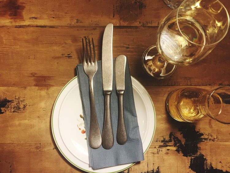 Fork Table Crockery Freshness Wood - Material Wine Drinking Glass Food Cooking Plate Healthy Eating Kitchen Utensil Indoors  Gourmet Interior Design Wood Eat Dinner Wine Moments Indoors  Food And Drink From My Point Of View Dinner Time Enjoying Life