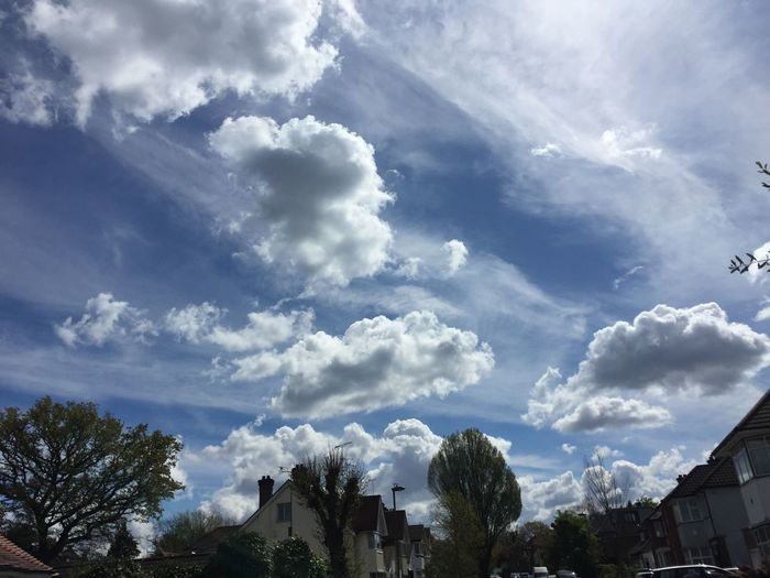Cloudy blue Beauty In Nature Cloud Cloud - Sky Cloudscape Cloudy Nature Outdoors Sky Weather